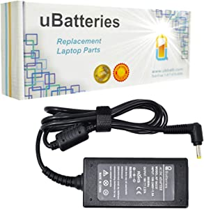 UBatteries Compatible 19V 2.37A 45W AC Adapter Replacement for Toshiba PA-1400-18HL PA5072E-1AC3 PA5072U-1ACA PA5192E-1AC3 PA3922U-1ARA PA3922U-1ACA PA3922E-1AC3 PA5192U-1ACA LAC-TO22 Series