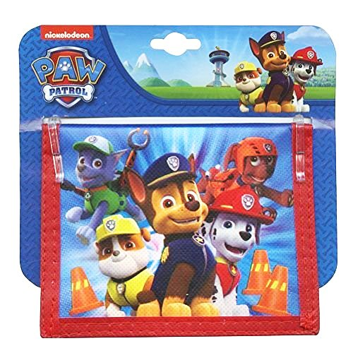Nick Jr Paw Patrol Bifold Wallet. Stocking Stuffers for Little Boys.