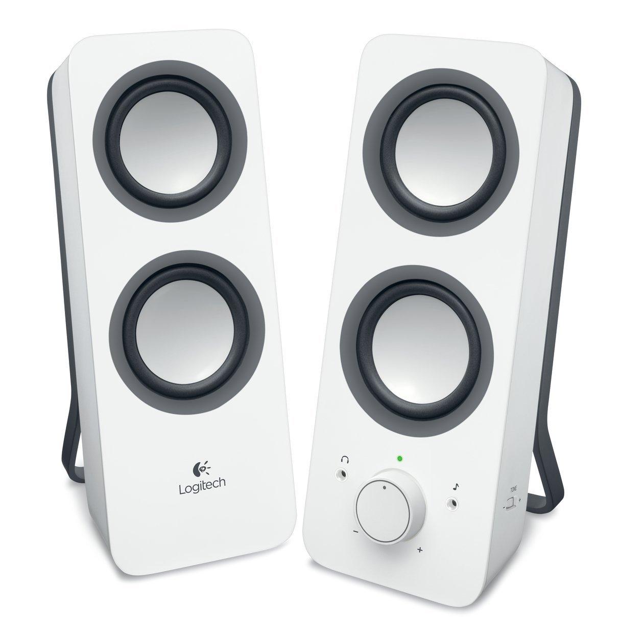 Logitech Z200 Altoparlanti Multimedia, Versione Italiana, senza Bluetooth, Bianco 2228891 10Watt PCSpeaker casse