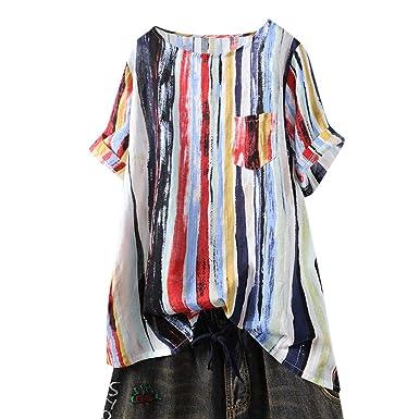 Camisetas Originales para Mujer Casual Graffiti Camisa con