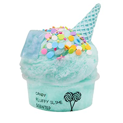 60ml Cotton Candy Cloud Ice Creamcone Slime Swirl Scented-Clay Toy, Toys St. Patrick Easter Gifts : Sports & Outdoors [5Bkhe0803406]