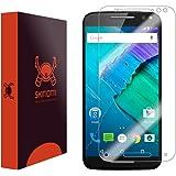 Skinomi TechSkin - Motorola Moto X Pure Edition/Moto X Style Screen Protector Premium HD Clear Film / Ultra High Definition Invisible & Anti-Bubble Crystal Shield