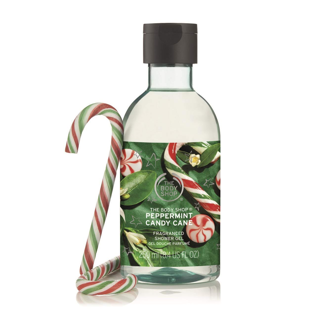 Amazon Com The Body Shop Peppermint Candy Cane Shower Gel 8 4 Oz