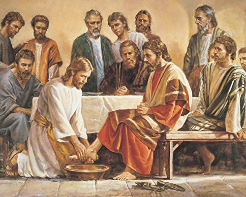 Jesus Washing The Apostles Feet 8 x 10 * 8x10 Photo Picture *SHIPS FROM USA*