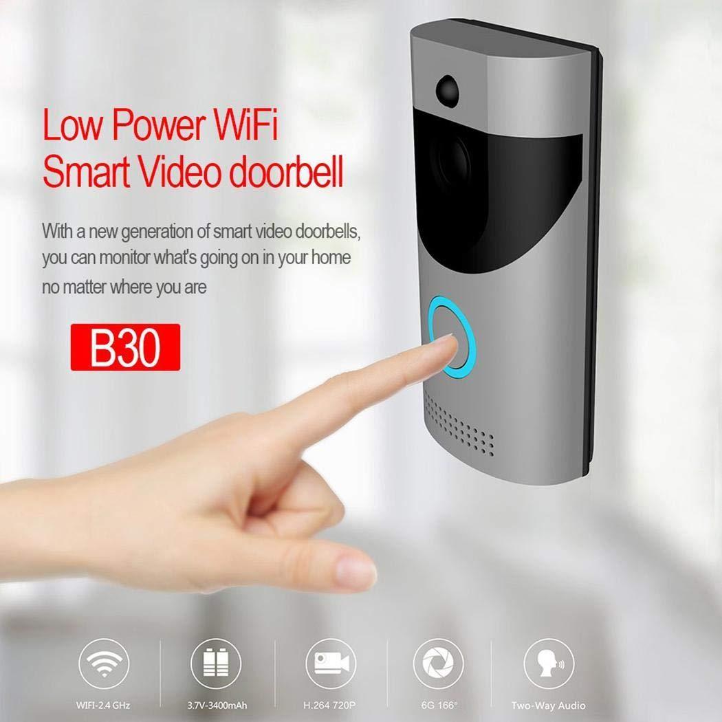 Erholi Home Alarm Smart Wifi Wireless Video Intercom Doorbell Kits by erholi (Image #7)