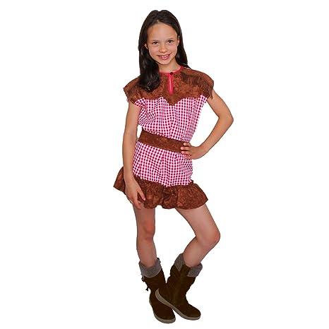 Krause & Sohn Traje de niño Cowgirl Western Girl Cowboy Wild West ...