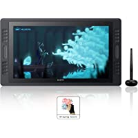 Drawing Monitor HUION Kamvas Pro20 Pen Display with HD Screen eco-Friendly Battery-Free Stylus 8192 Pen Pressure 19.5 Inch (GT-192)