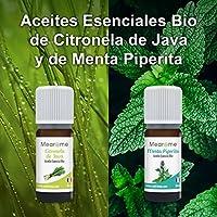 Aceites Esenciales para Humificador, Aromaterapia, 100% Naturales, Bio, Set de Aceites Esenciales, Menta, Lavanda, Eucalipto, Cedro de Atlas, ...