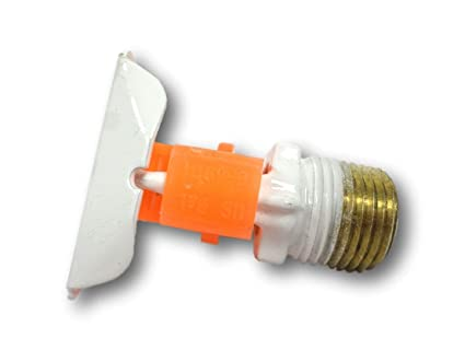 Amazon com: Tyco TY3331 Sprinkler Head White Ty-frb 5 6