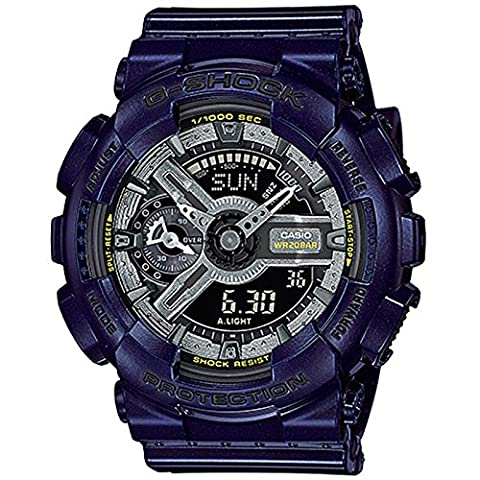 G-Shock GMAS-110MC-2A - Metallic Blue / One Size (Blue G Shock Men)