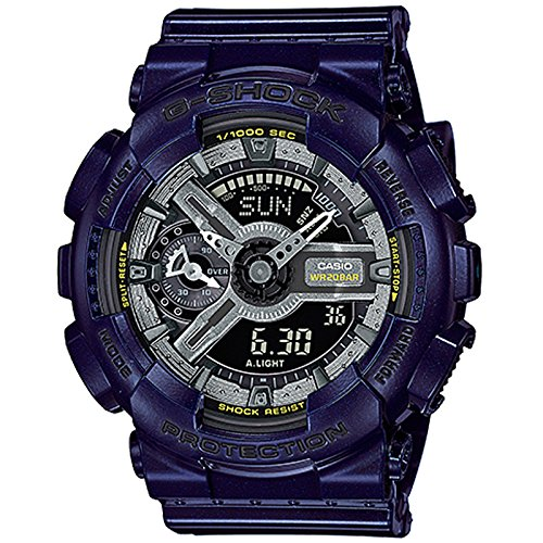 G Shock GMAS 110MC 2A Metallic Blue Size
