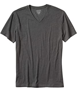 42e6de74 Banana Republic Men's Factory Premium-Wash V Neck T Shirt Short Sleeve