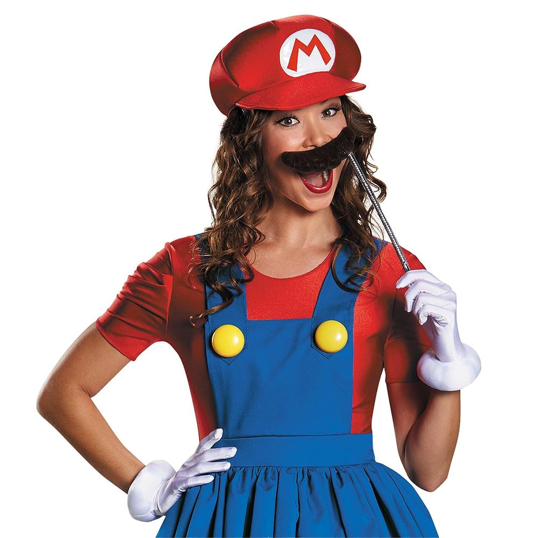 Amazon.com: Disguise Women\'s Mario Skirt Version Adult Costume ...