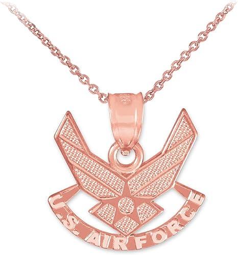 Air Force Pendant 14k U S