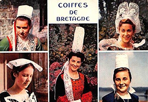 Coiffes de Bretagne, Jeunes Filles en Costume
