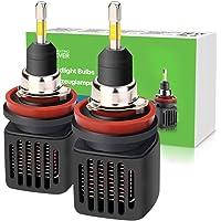 2-Pack Lighting EVER LED Headlight Bulbs High Beam Conversion Kit