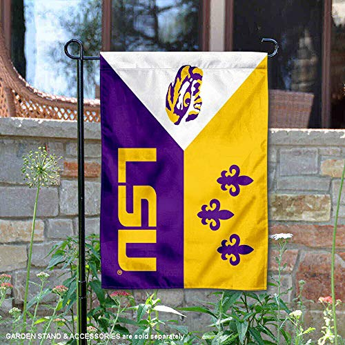 College Flags and Banners Co. Louisiana State University Acadian Garden Flag