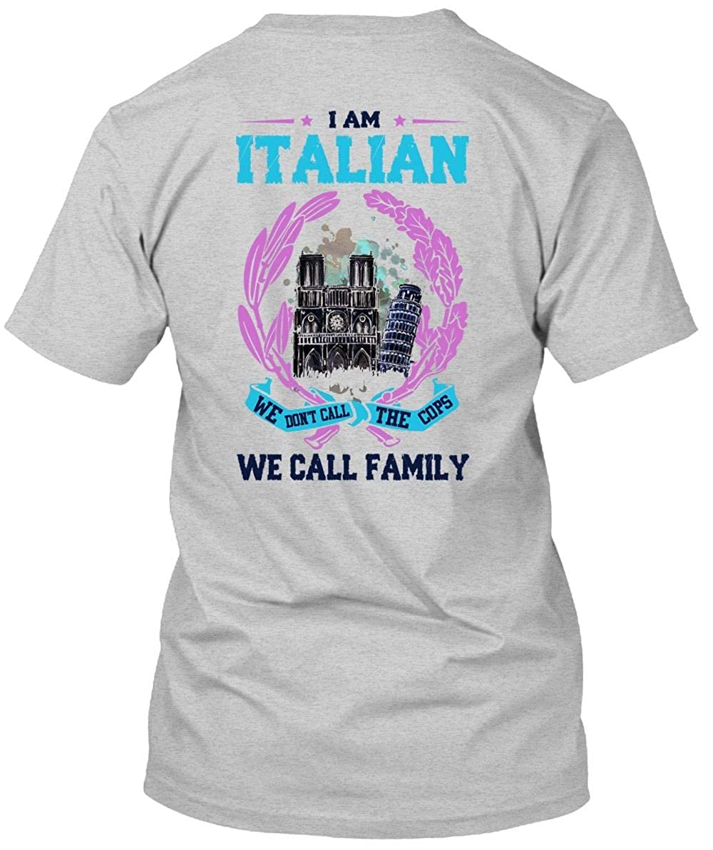bd194ff01 Amazon.com: I Am Italian T Shirt, I Love Italian T Shirt: Clothing