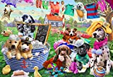 Vermont Christmas Company Laundry Day Kid's Jigsaw Puzzle 100 Piece