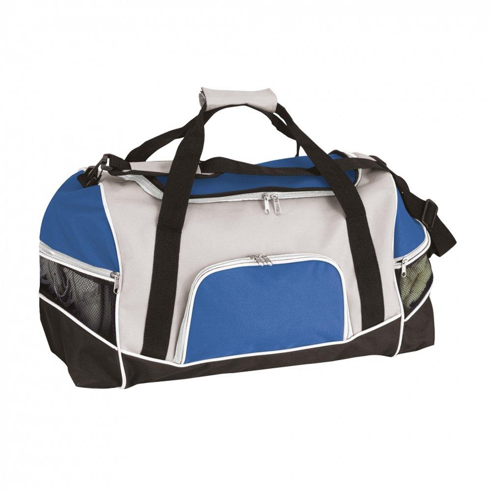 eBuyGB Sports and Gym Holdall Bag with Shoulder Strap Portable Handbag Hanger, 45 cm, Royal Blue