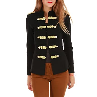 Et La Modeuse Veste Courte Style OfficierVêtements pqVUzGMS