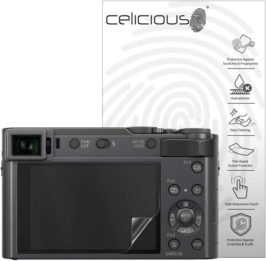 Pack of 2 Celicious Matte Anti-Glare Screen Protector Film Compatible with Panasonic Lumix DC-ZS80