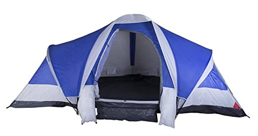 Stansport Grand 3-Room Family Tent (Blue)  sc 1 st  Amazon.com & Amazon.com: Stansport Grand 3-Room Family Tent (Blue): Clothing