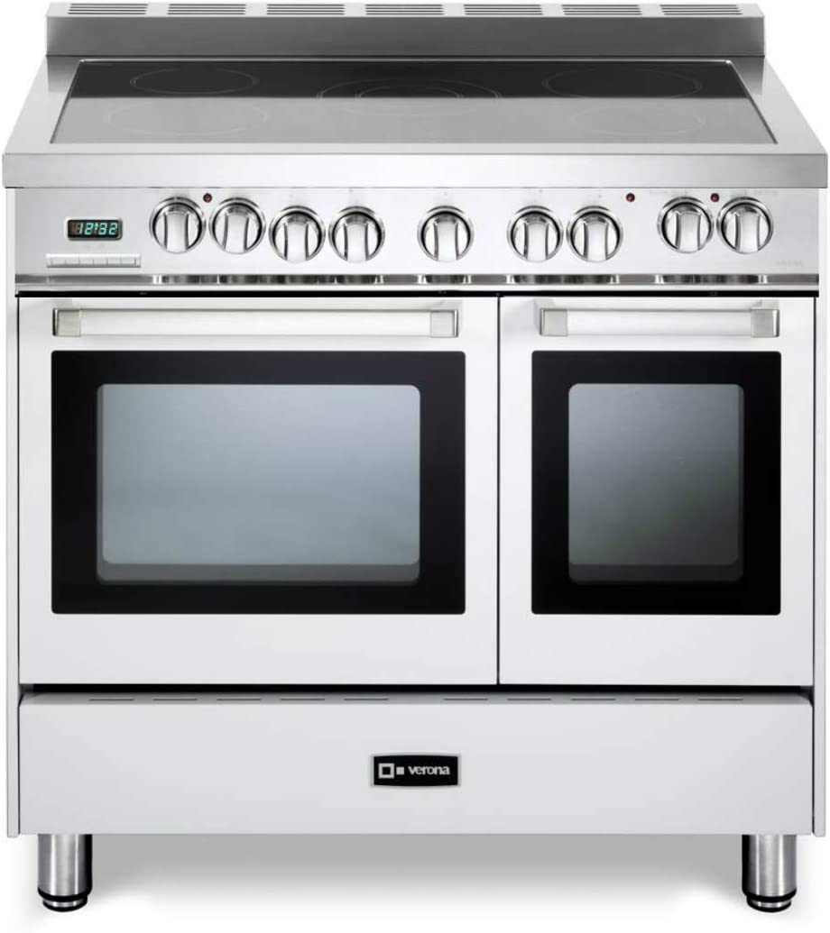 Verona VEFSEE365DW 36 inch All Electric Double Oven Range Convection White