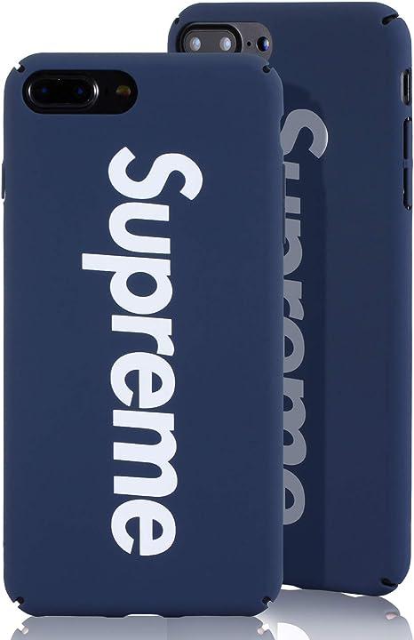 Ultra-Slim Cover Supreme Design Schutzh/ülle Passend f/ür Apple iPhone 6 Plus, Navy Blau SUP Hard Case Feinmatte Hartschale
