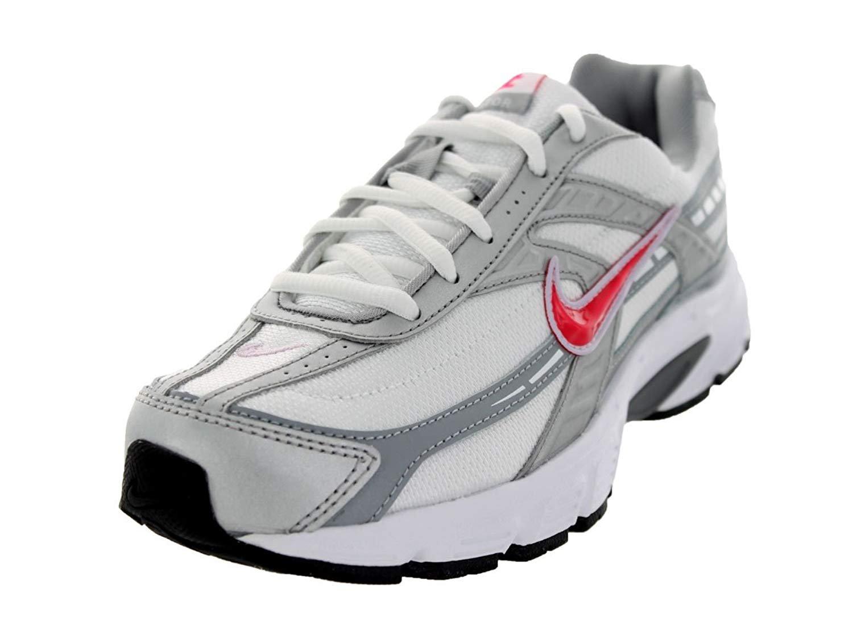 NIKE Women's Initiator Running Shoes B004LBJOW4 5.5 B(M) US White Silver/ Blue Cherry