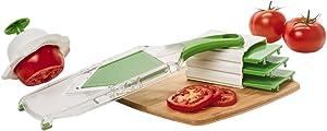 Farberware Handheld Mandoline Fruit and Vegetable Slicer, Green