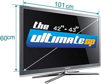 Protector de Pantalla para televisor LCD LED Plasma 3D HDTV de 42 a 43 Pulgadas: Amazon.es: Electrónica