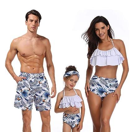 f56094869d54 Hhl Traje de baño Familiar, Ropa de Playa mamá y yo Traje de baño ...