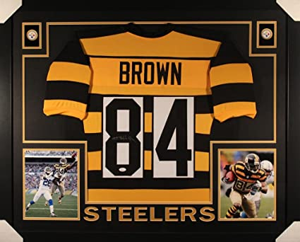antonio brown framed jersey