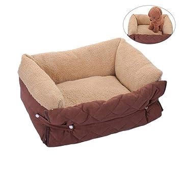 KOBWA - Colcha Multiusos para Mascotas, Cama para Perro, Gato, Perrera extraíble y