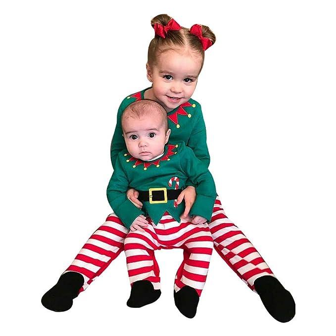HALILUYA Navidad Conjunto Bebe Niña Niño Recien Nacido Elfo ...