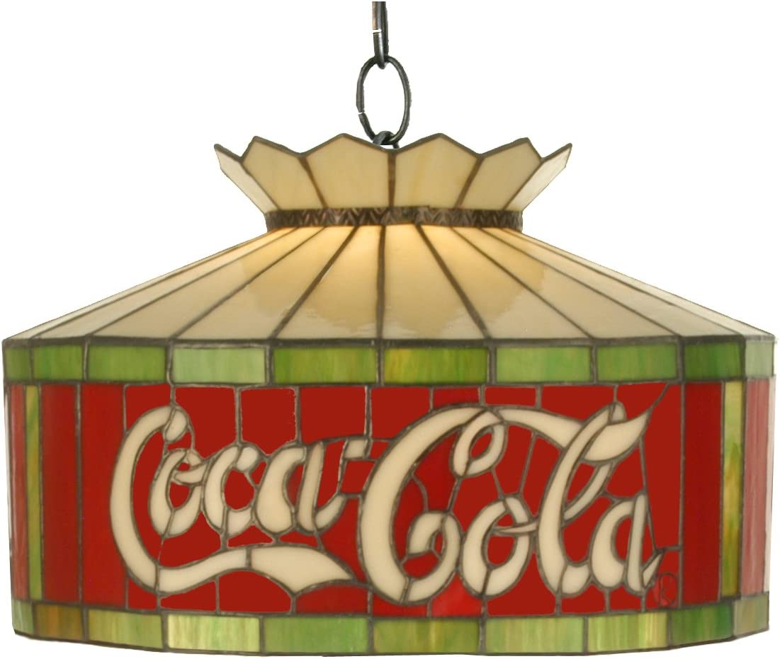 Meyda Home Indoor Bedroom Wedding Party Decorative Lighting 16 W Coca-Cola Ceiling Pendant Fixture-Ca Flame-29237