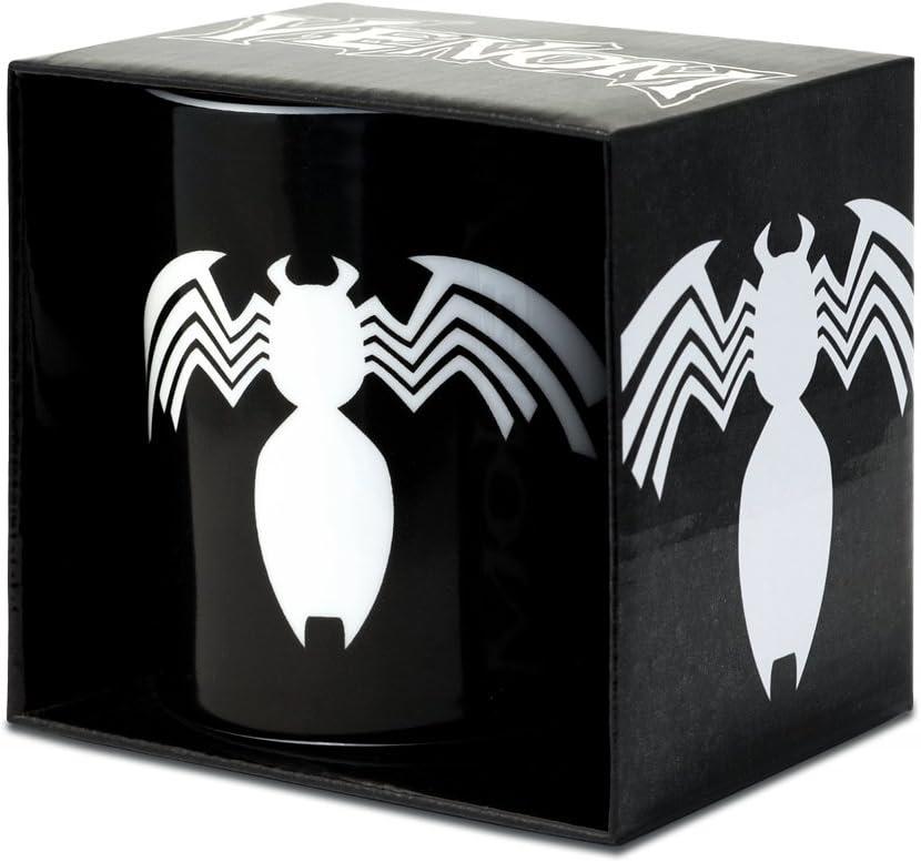 Logoshirt Venom Taza de Cafe - Marvel Comics Taza - Supervillano Taza para Té - Negro - Diseño Original con Licencia: Amazon.es: Hogar