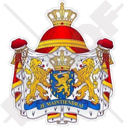 NETHERLANDS Dutch Coat of Arms Badge Crest Holland 100mm (4