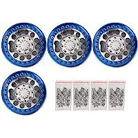 VGEBY1 4 Unids RC Llantas, 1.9in Hub Wheel