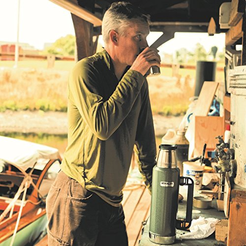 Stanley Classic Ultra Vacuum Bottle, Hammertone Navy, 1.4 Quart by Stanley (Image #5)