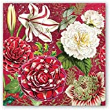 Michel Design Works NAPL292 20-Count 3-Ply Paper Luncheon Napkins, Christmas Day