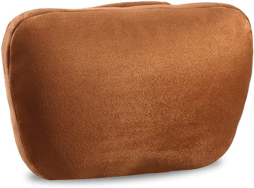 Almohada del cuello del coche, Cojín del asiento Silla de algodón ortopédica cómoda Almohada Respaldo Cojín del asiento Oficina Coche Sentado Viaje Asiento Coj&iacut