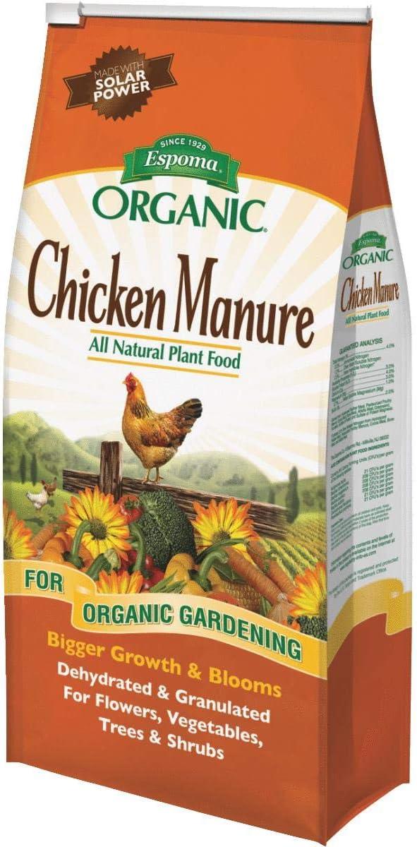 Espoma Organic GM3 3.75 Lb Organic Chicken Manure Plant Food