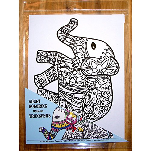 Zendoodle Iron On Transfers Adult Coloring Iron On