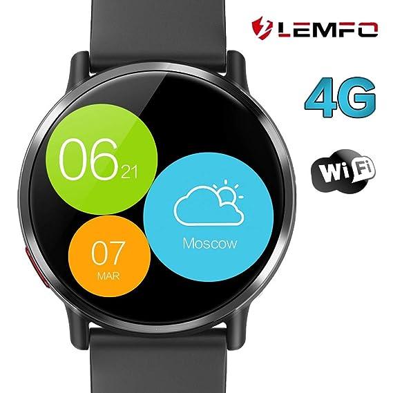 LEMFO LEMX Smartwatch para Android 7.1 4G LTE 2.03 Pulgadas ...