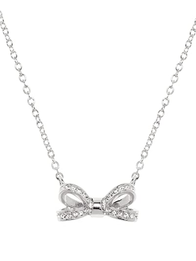 2febd6054 Ted Baker Olessi Mini Opulent Pave Bow Pendant TBJ1561-01-02: Amazon ...