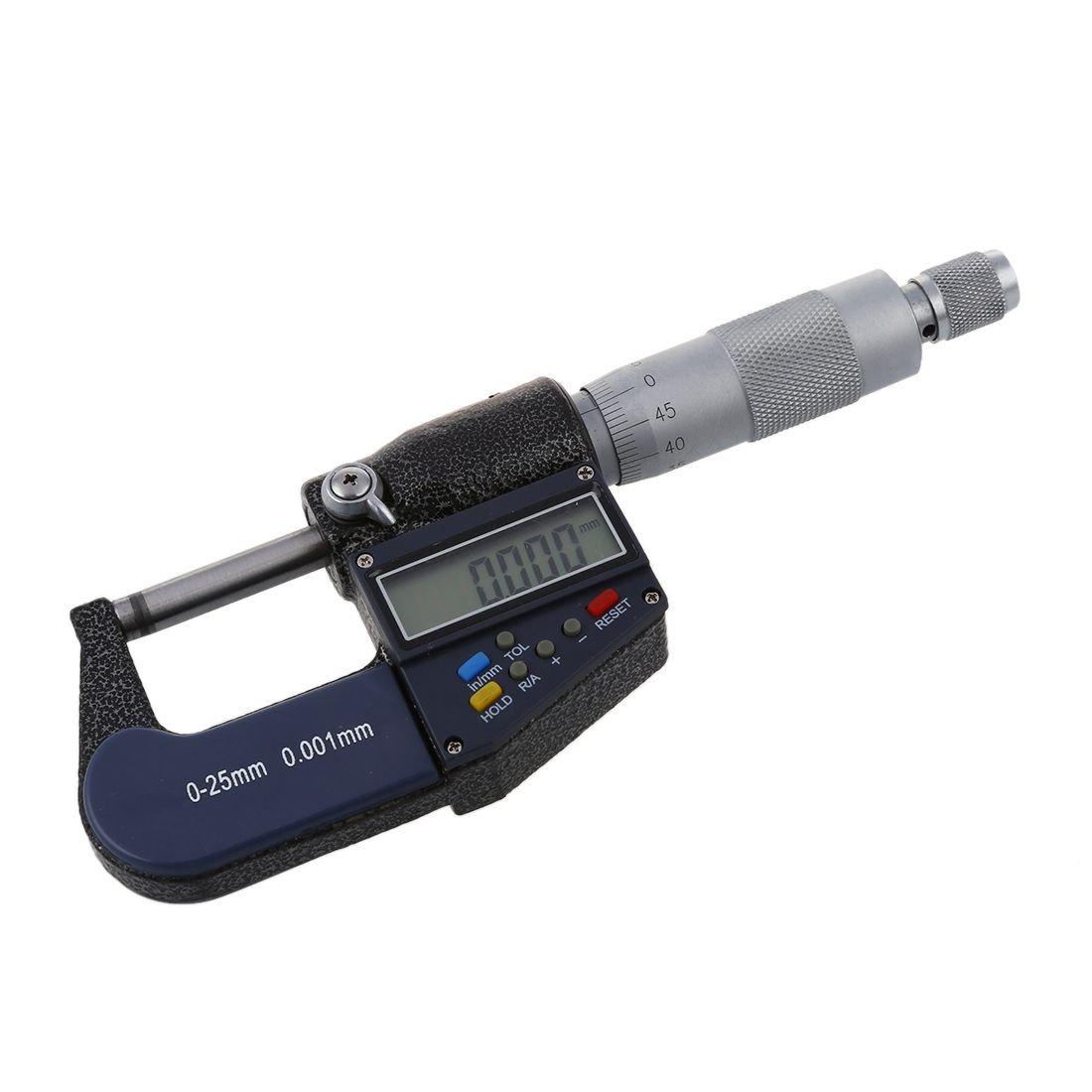 TOOGOO(R) Nouveau 25mm / 0.001mm Electronique Micrometre Numerique SODIAL(R)