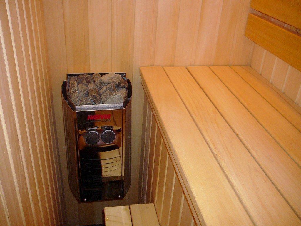 Estufa de sauna eléctrica Harvia Vega Compact BC23 2,3 kW para las saunas pequeñas 1,3-2,5 m³: Amazon.es: Hogar