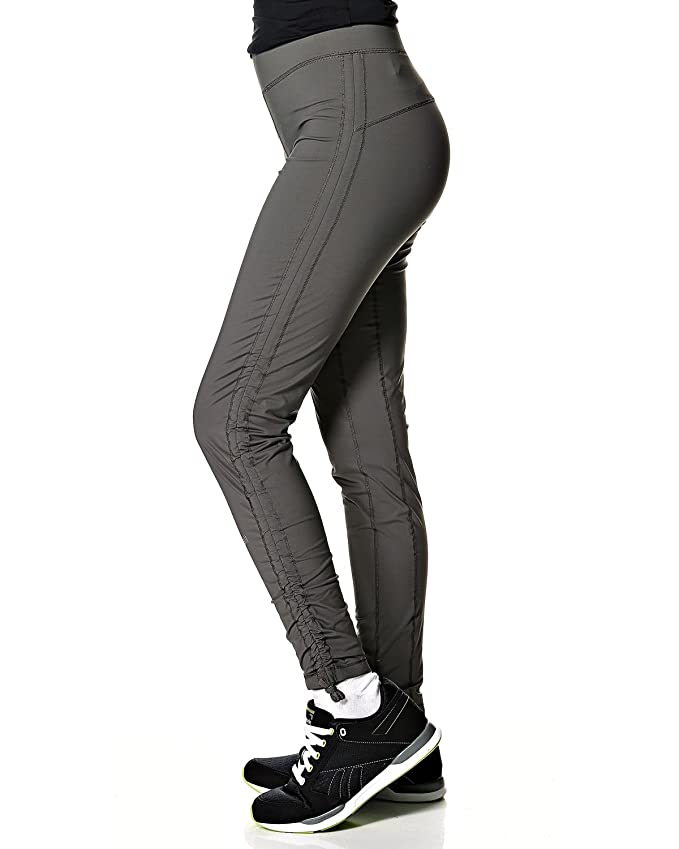 Amazon.com: Casall Womens Ruching Fitness Leggings 34 Gray ...